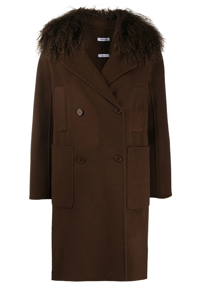 P.A.R.O.S.H. Leak double-breasted coat