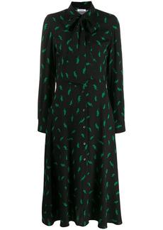 P.A.R.O.S.H. lightening bolt print dress