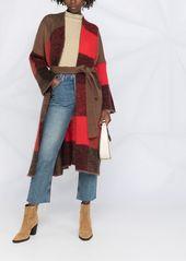 P.A.R.O.S.H. Lorain patchwork cardi-coat