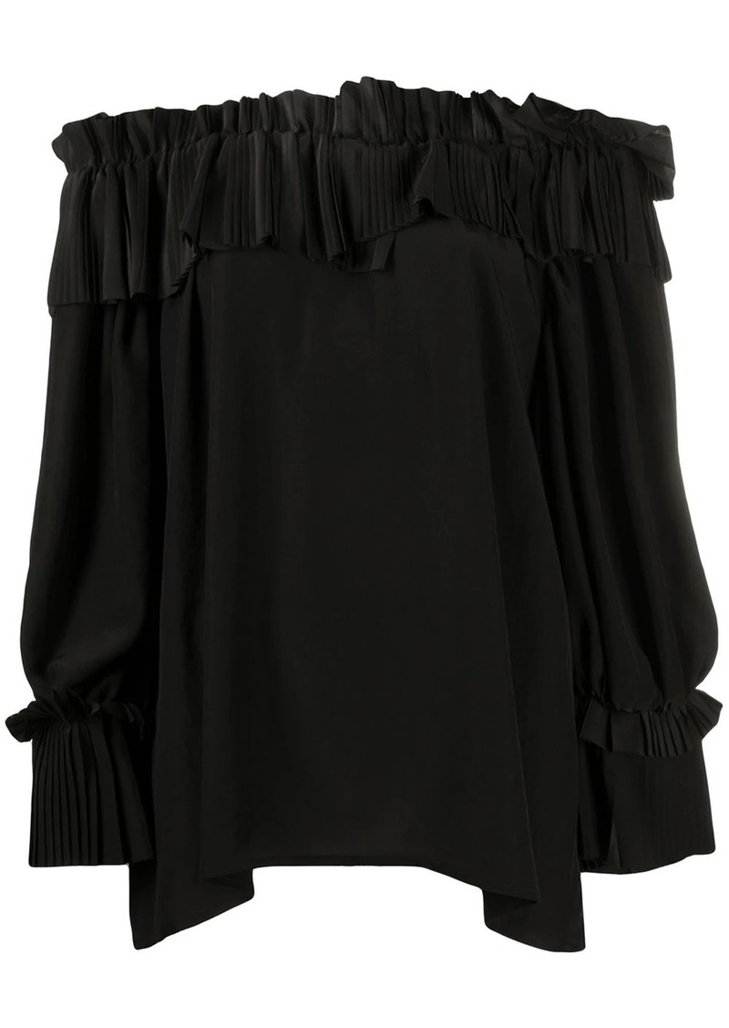 P.A.R.O.S.H. off the shoulder blouse