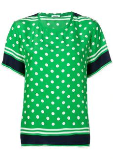 P.A.R.O.S.H. polka dot print blouse