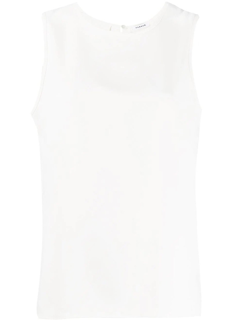 P.A.R.O.S.H. relaxed sleeveless blouse