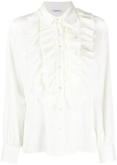 P.A.R.O.S.H. ruffle trim blouse