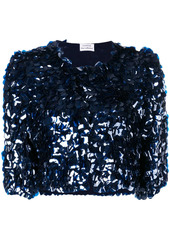 P.A.R.O.S.H. sequin embellished cropped jacket