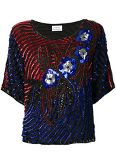 P.A.R.O.S.H. sequin-embellished top
