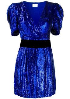P.A.R.O.S.H. sequinned mini dress