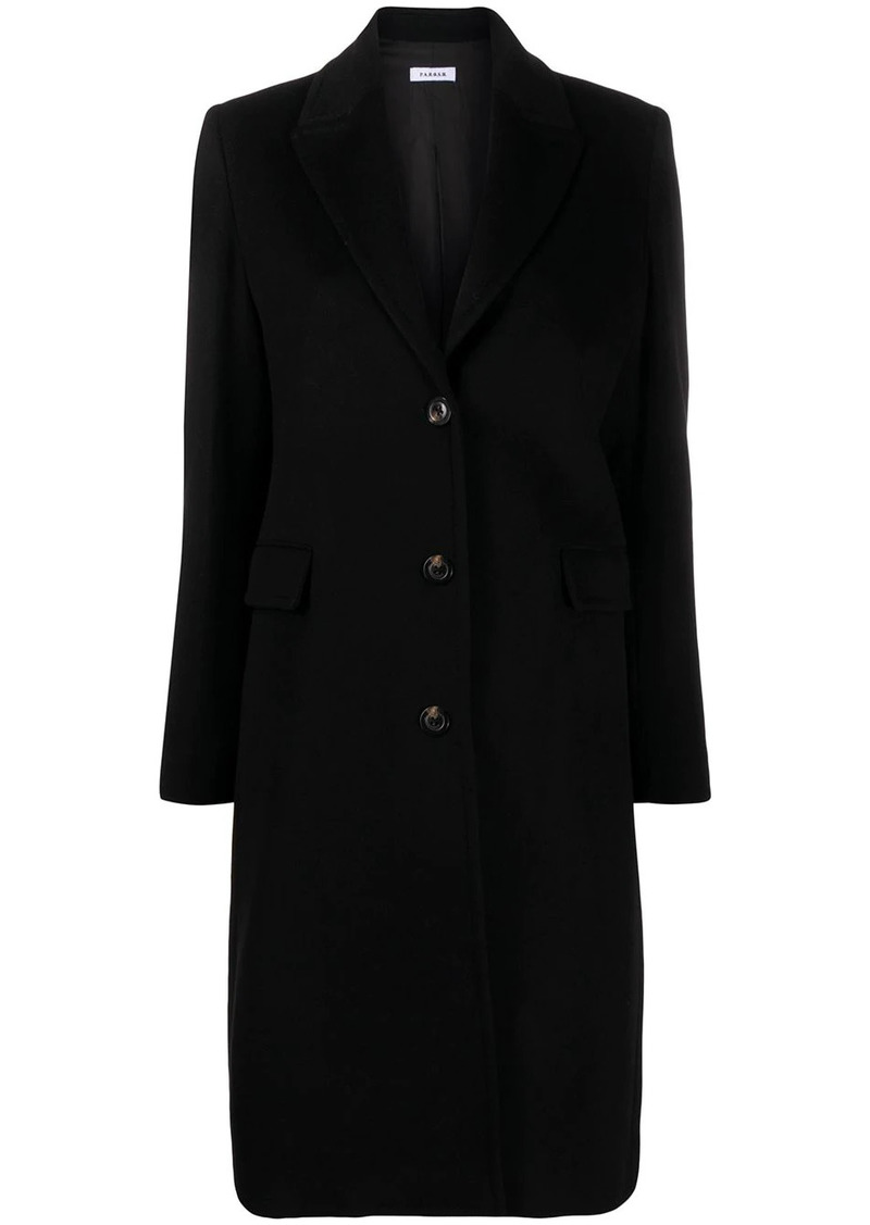 P.A.R.O.S.H. single breasted cashmere cardigan-coat