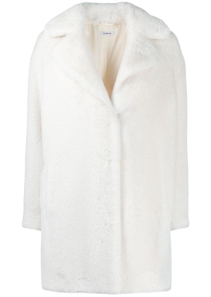 P.A.R.O.S.H. single breasted midi coat