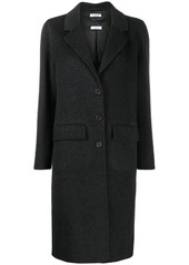 P.A.R.O.S.H. single breasted wool coat