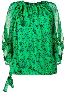 P.A.R.O.S.H. star print blouse