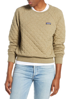 Patagonia Quilt Crewneck Sweater