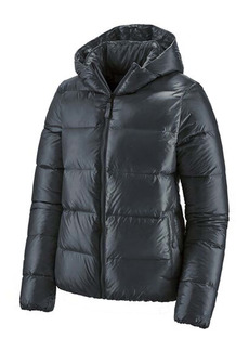Patagonia Raven Rocks Durable Water Repellent Hooded Down Jacket