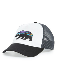 Women's Patagonia Fitz Roy Bear Logo Trucker Hat