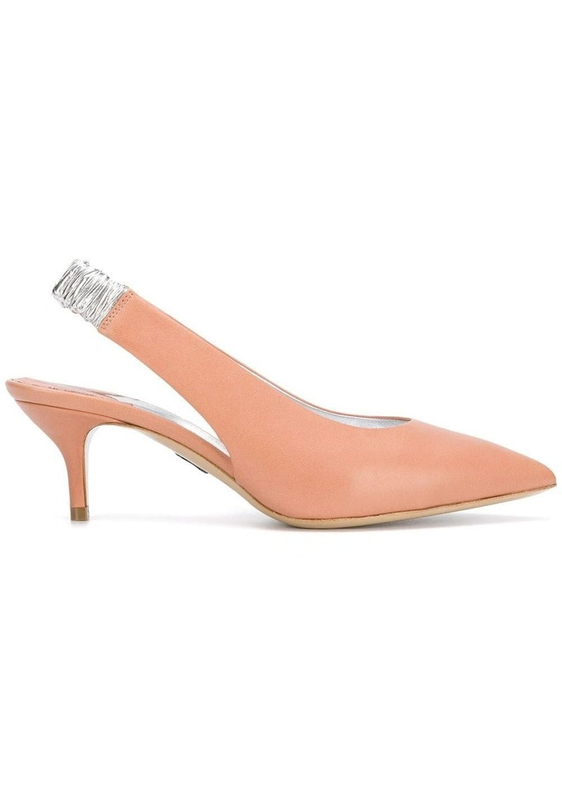 Paul Andrew sling-back pointed pumps