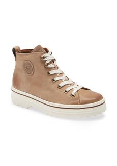 Paul Green Ember Mid Top Leather Sneaker (Women)