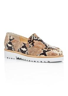 Paul Green Women's Tripoli Apron-Toe Platform Loafers