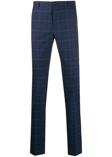 Paul Smith checked pattern tapered trousers