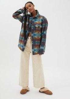 Pendleton Jacquard Shirt Jacket - Pilot Rock Blue