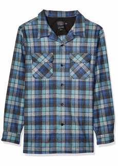Pendleton Men's Long Sleeve Fitted Board Wool Shirt