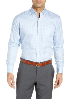 Peter Millar Crown Soft Gingham Regular Fit Shirt
