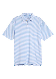 Peter Millar drirelease® Natural Touch Stripe Short Sleeve Performance Polo