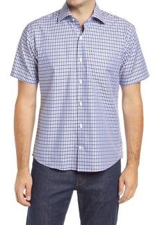 Peter Millar Gaston Falls Short Sleeve Button-Up Shirt