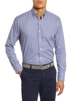 Peter Millar Gearheart Check Button-Down Shirt