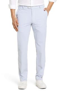 Peter Millar Matlock Tailored Fit Seersucker Flat Front Performance Pants