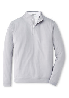 Peter Millar Perth Printed Clubs Quarter Zip Performance Pullover