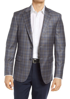 Peter Millar Plaid Wool Sport Coat
