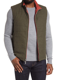 Peter Millar Reversible Stretch Cotton Flannel Vest