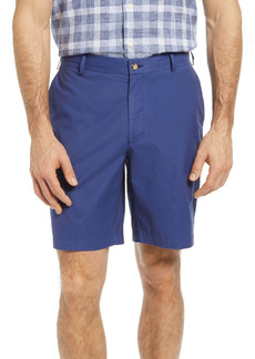 Peter Millar Seaside Stretch Poplin Shorts