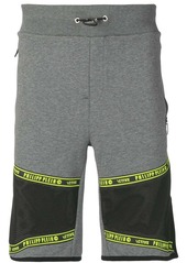 Philipp Plein appliqué detail running shorts