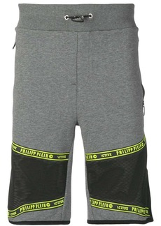 Philipp Plein appliqué detail running shorts