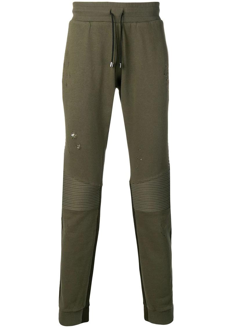 Philipp Plein biker track pants