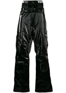 Philipp Plein coated ski trousers