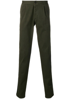 Philipp Plein contrast trim chino trousers