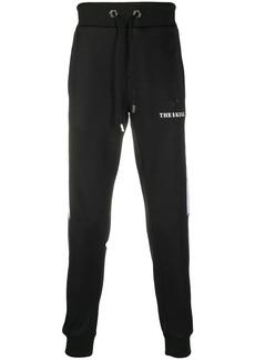 Philipp Plein contrasting-coloured insert jogging trousers