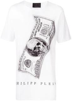 Philipp Plein Dollar bill print T-shirt