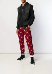 Philipp Plein embroidered joggers