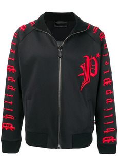 Philipp Plein embroidered track jacket