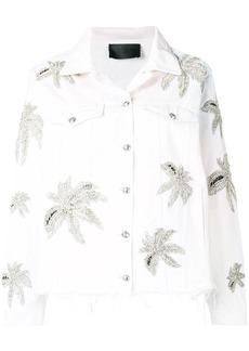 Philipp Plein floral print jacket