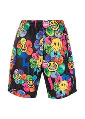 Philipp Plein floral-print swim shorts