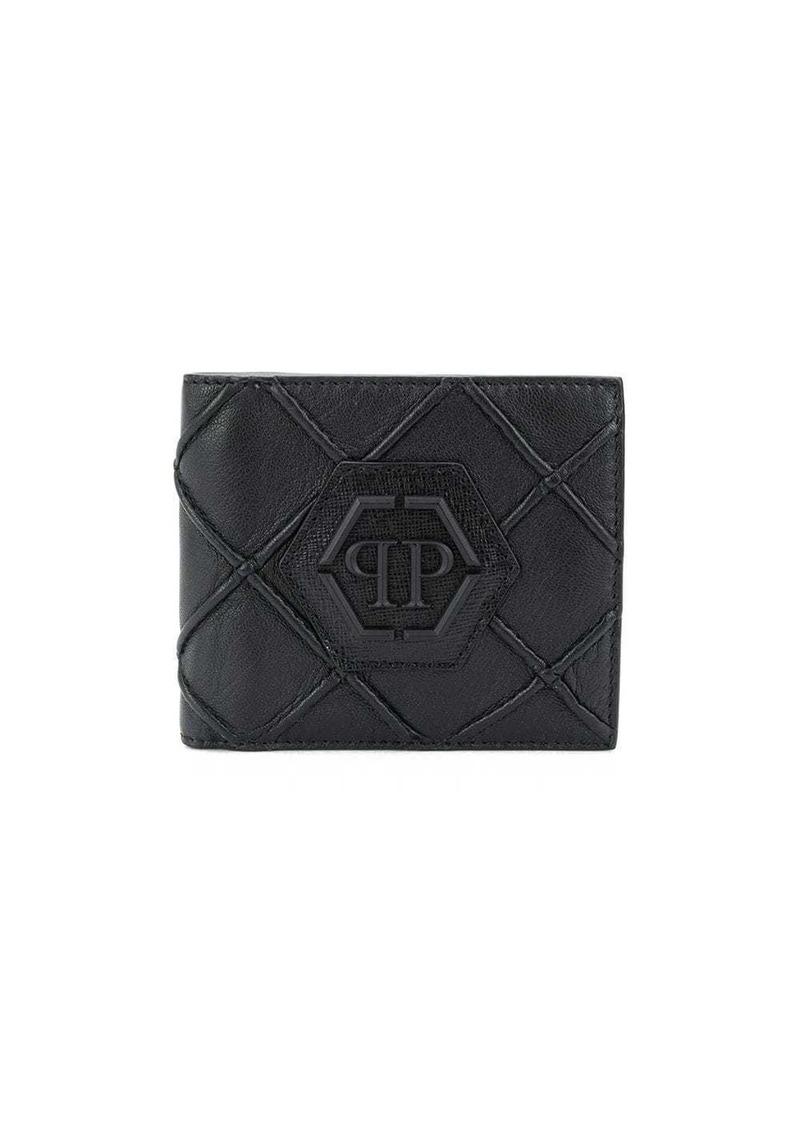 Philipp Plein geometric French wallet