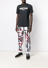 Philipp Plein Geometric jogging trousers
