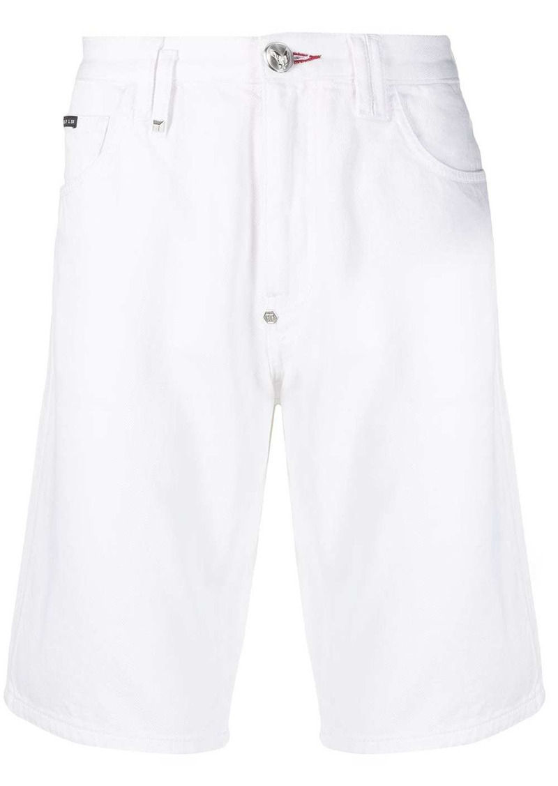 Philipp Plein Istitutional St. Tropez Fit denim shorts