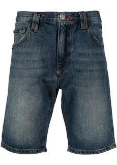 Philipp Plein Istitutional St. Tropez-fit denim shorts