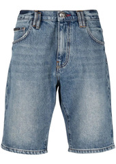 Philipp Plein Istitutional St. Tropez-fit denim shorts