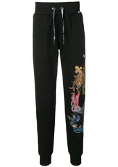 Philipp Plein Jungle track trousers