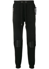 Philipp Plein knee patch track trousers